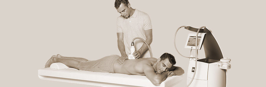 Lymphatic drainage with LPG machine