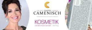 """""""Die Kolumne"""" in Kosmetik International Suisse"""
