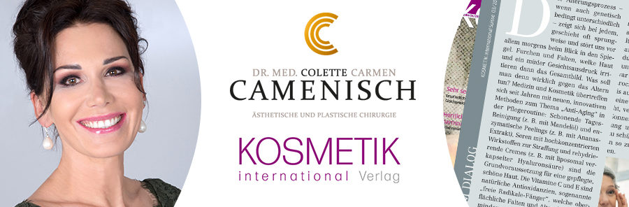 """Die Kolumne"" in Kosmetik International Suisse"